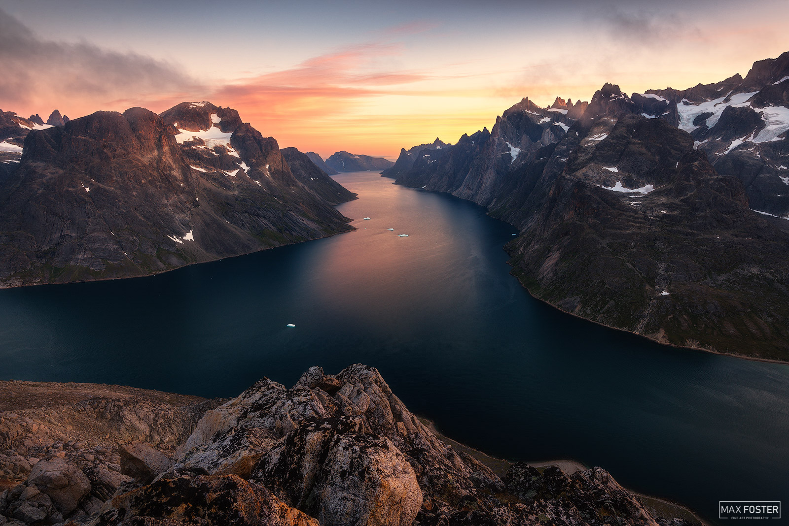 Southern Greenland, The Great Divide, Fjords, Ocean, Glacier, photo