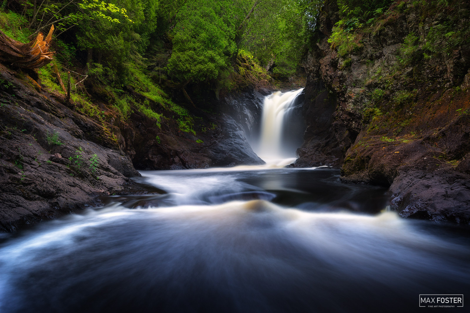 Fine Art Limited Edition of 50 The Cascade River is a 17.1-mile-long (27.5 km) river in northeastern Minnesota, United States...