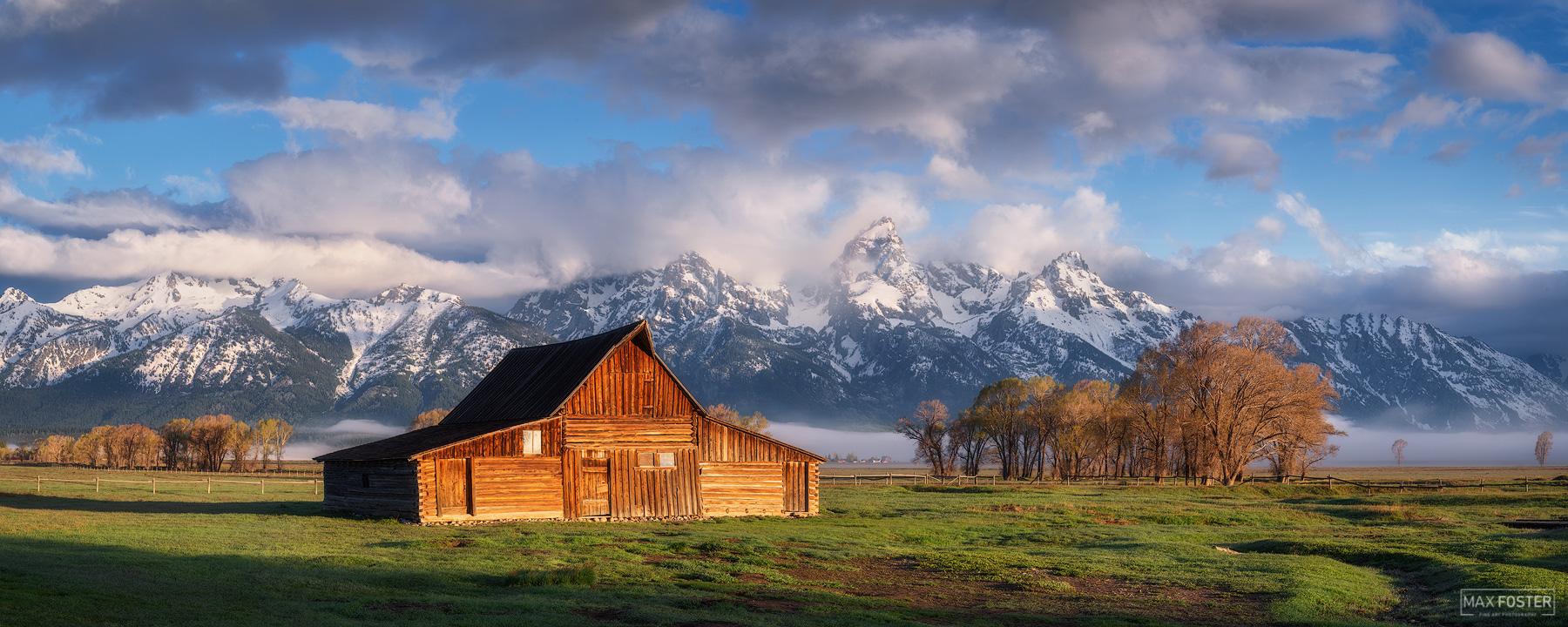 Moulton Barn, Grand Teton National Park, Wyoming, The Wild West, Mormon Row Historic District, photo
