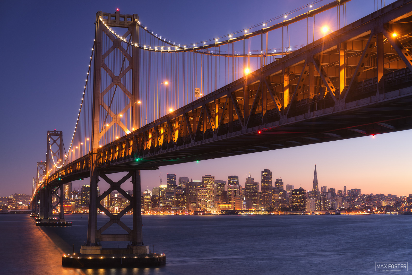 San Francisco Skyline, California, There and Back, Northern California, Bay Bridge, photo