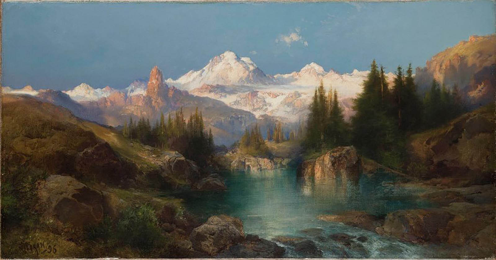 Thomas Moran, Snowy Range, 1896, Denver Art Museum