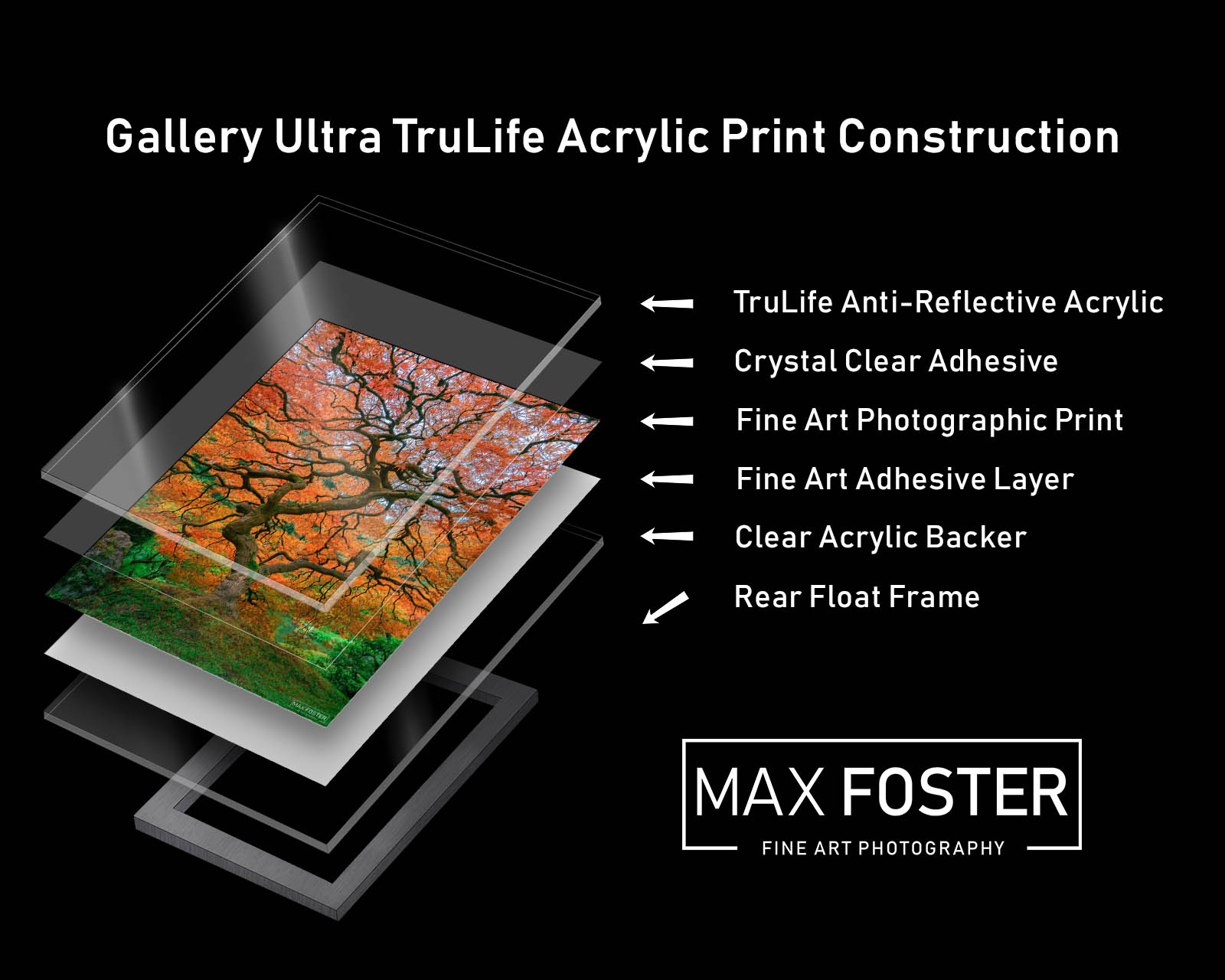 Gallery Ultra TruLife Acrylic Print Construction