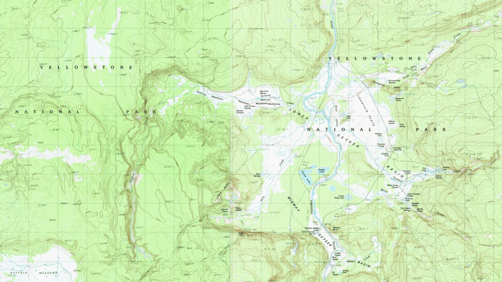 USGS Topographical Map