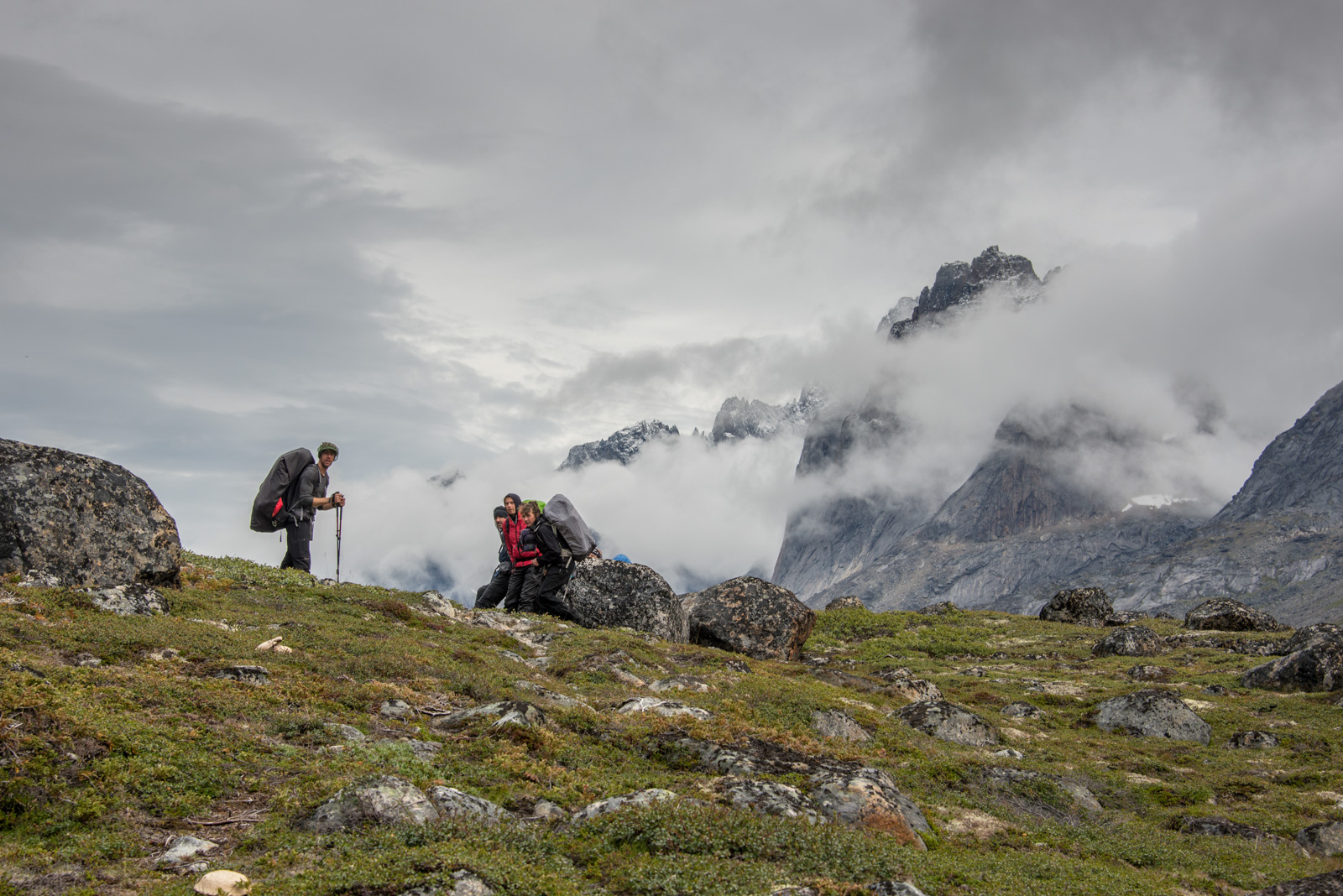 Valley Hike in Greenland