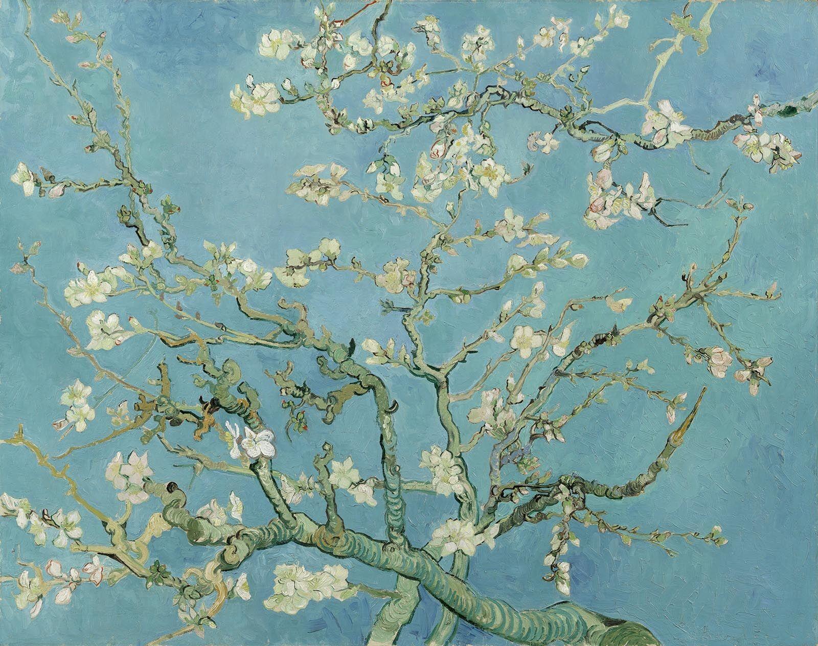 Vincent Van Goh, Almond Blossoms, 1890, Van Goh Museum