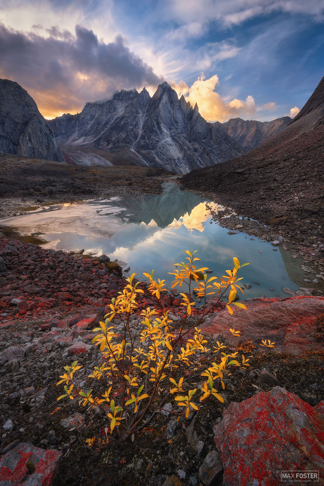 Arrigetch Peaks Wilderness, Gates of the Arctic National Park, Alaska, Wild Awakening, photo