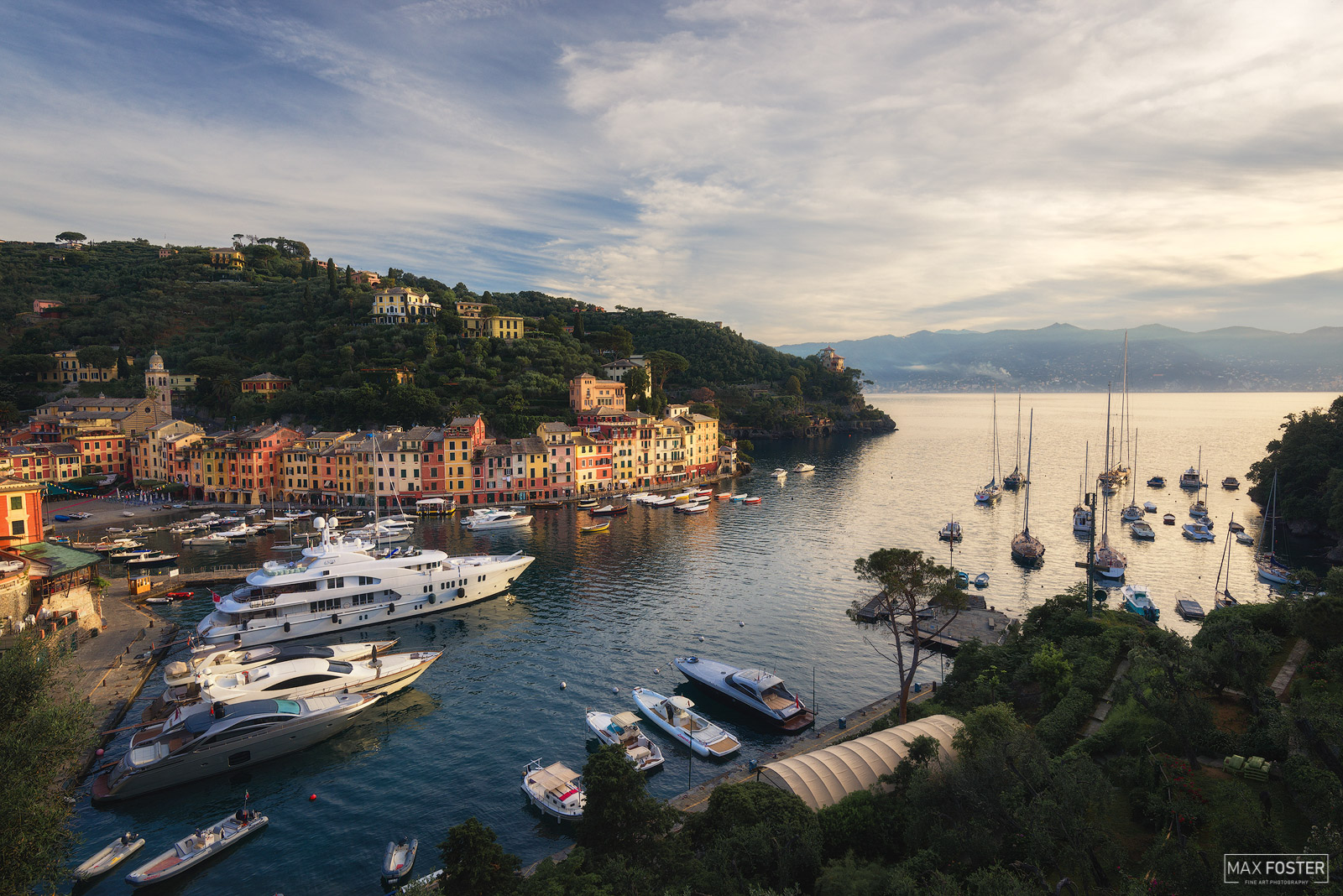 Italy, Fishing Village, Holiday Resort, Italian Riviera, harbor, picturesque, famous, With Love From Portofino, photo
